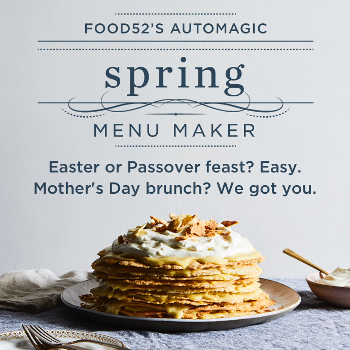 Automagic Spring Menu Maker!