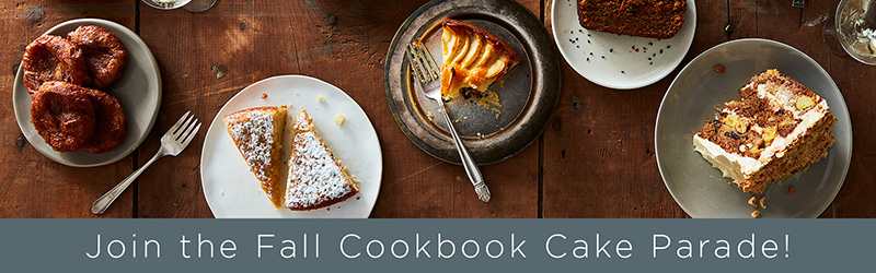 See more of our Fall Cookbook Cake Parade