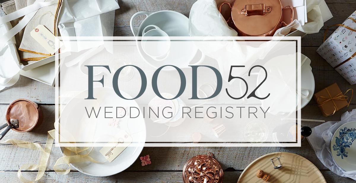 Food52 Wedding Registry